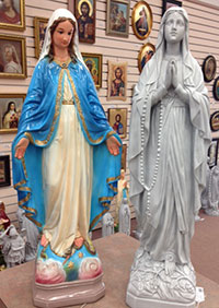 Marian statues