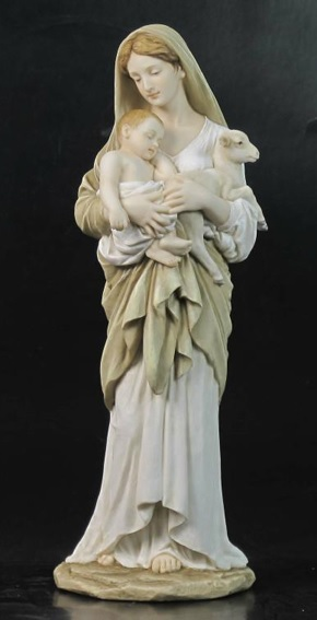 11.75'' L'Innocence Color Statue