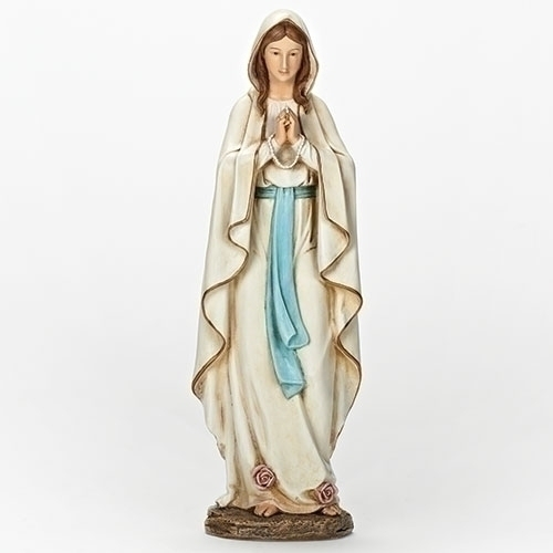 13.5'' Our Lady of Lourdes Statue