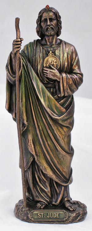 8 St Jude Statue Bronze
