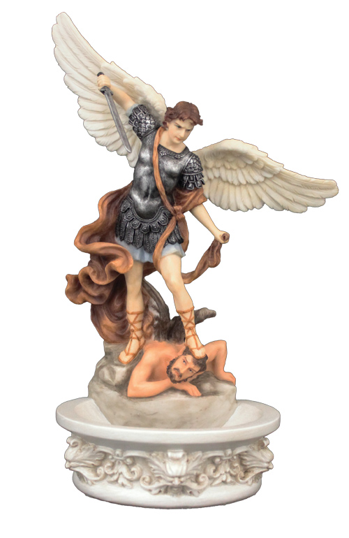 St. Michael Holy Water Font