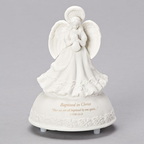 5'' Baptism Musical Angel