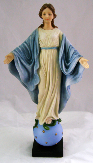 9'' Our Lady of Smiles Statue