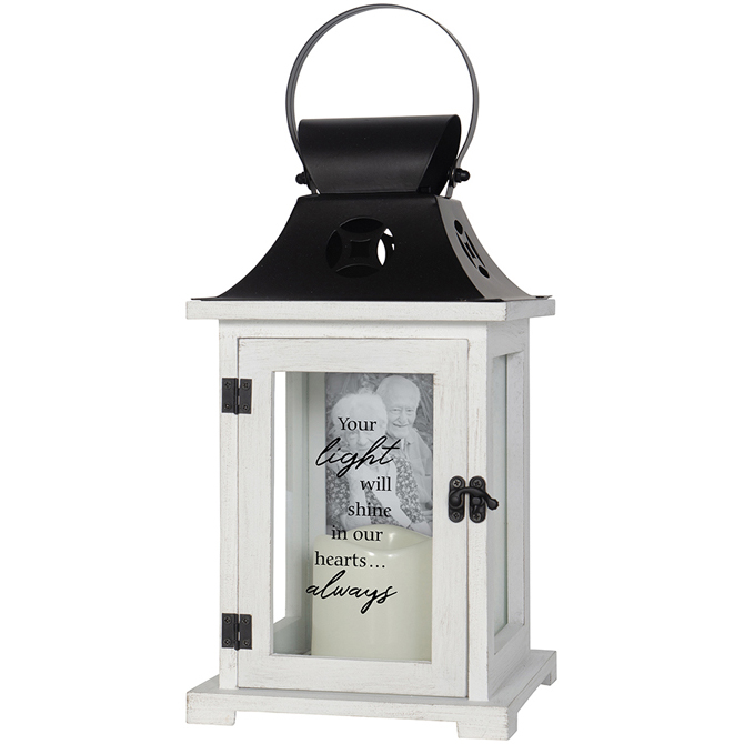 Your Light Picture Frame Memorial Lantern
