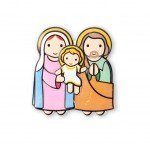 Little Drops of Water Magnet - Holy Family