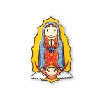 Little Drops of Water Magnet - Our Lady of Guadalupe