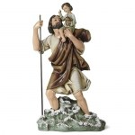 10.75'' St. Christopher Statue