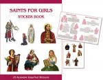 Saints for Girls Sticker Book