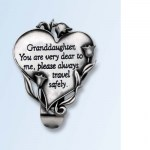 Granddaughter Visor Clip
