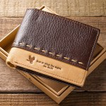 Isaiah 40:31 Leather Wallet