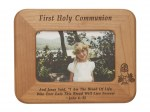 First Communion Frame Lasered Cut