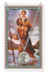 24'' St. Christopher Holy Card & Pendant