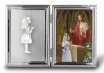 First Holy Communion Silver Picture Frame