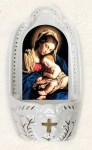 5.5'' Mother and Child Holy Water Font