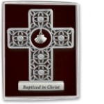 3'' Baptism Standing Cross