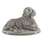 Faithful Friend Dog Garden Stone