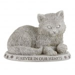 Faithful Friend Cat Garden Stone