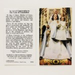 OLC Holy Card
