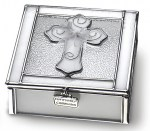 Stained Glass First Communion Keepsake Box