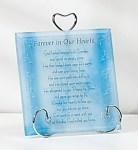 Forever in Our Hearts Plaque