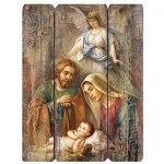 17'' Holy Family Wall Plaque