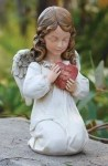Angel With Heart Statue