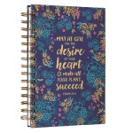 Floral Desire Wirebound Journal