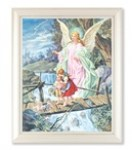 White Framed Guardian Angel