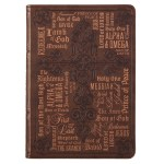 Brown Names of Jesus Classic Journal